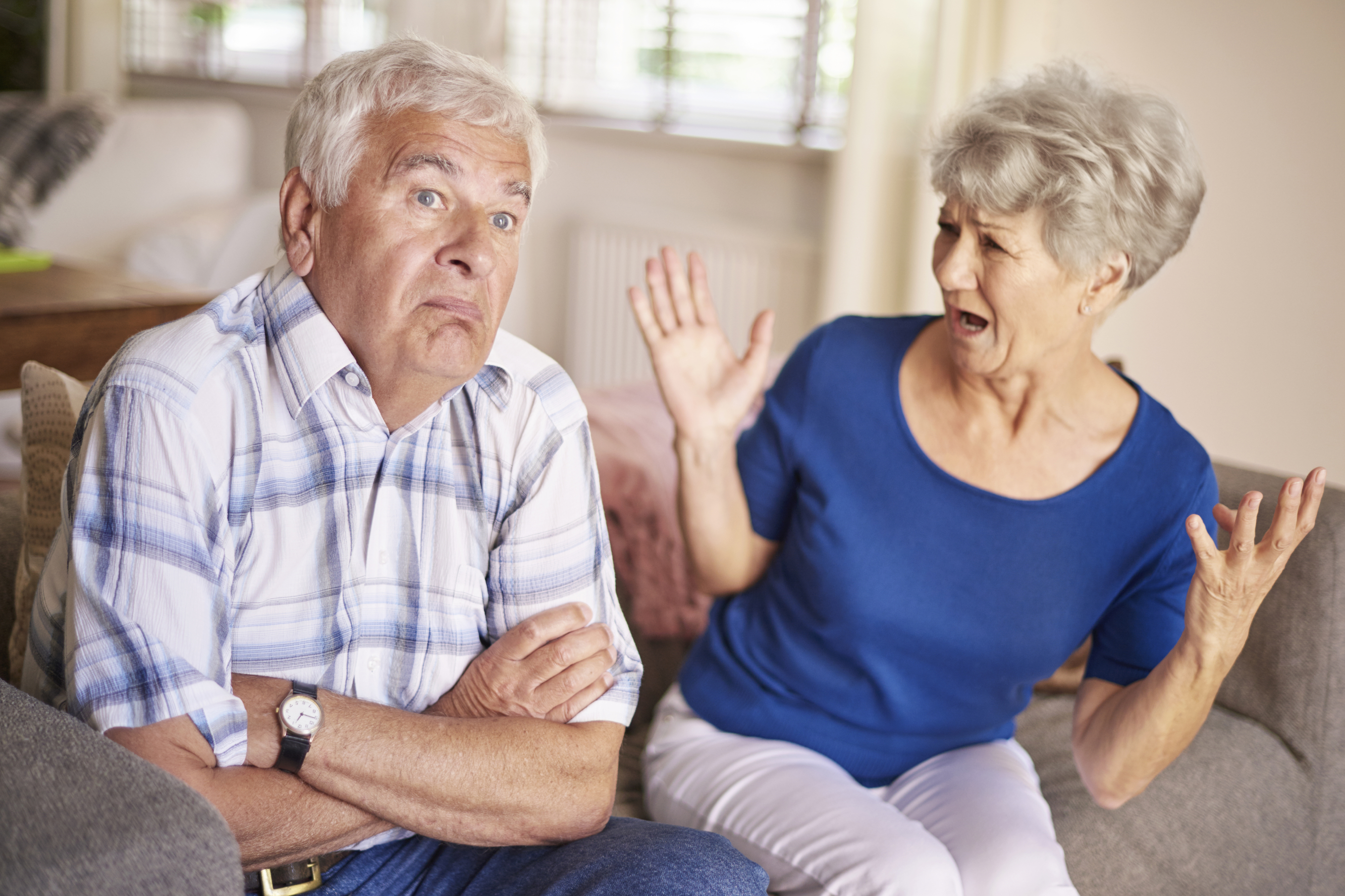 Senior divorce advice